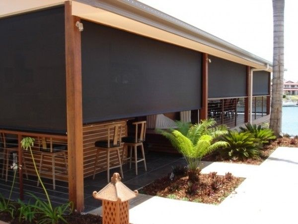 outdoor solar roller shades … More