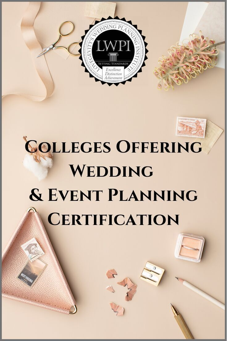 Event Planning Certification Courses Online Lovegevity Event Planning Certification Event Planning Wedding Event Planning