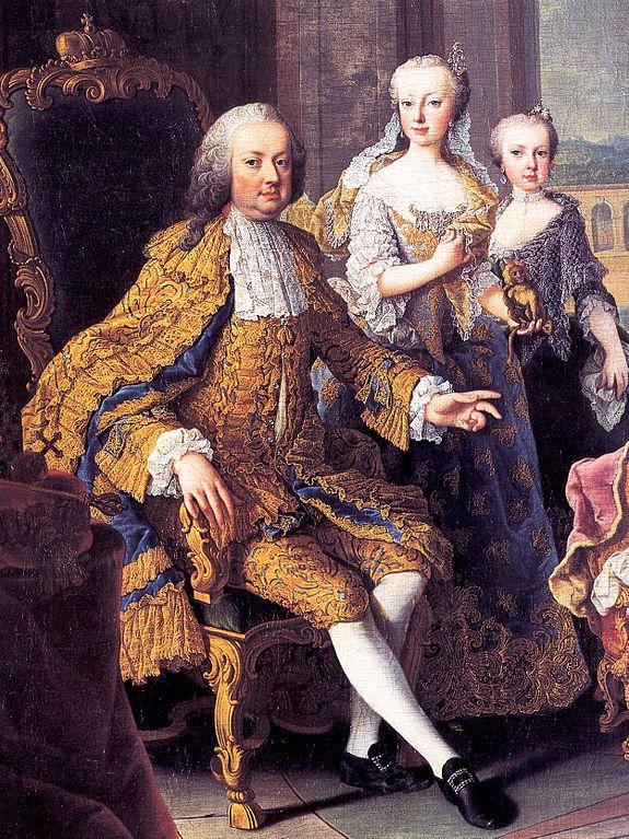 Mann kaiser Franz I Stephan