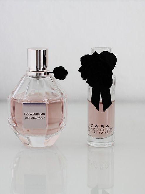 Black Poeny Zara smells like Flowerbomb of Vikor & Rolf