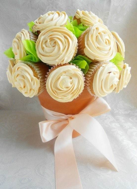 Cupcake Planter- I would love these as a wedding centerpeice