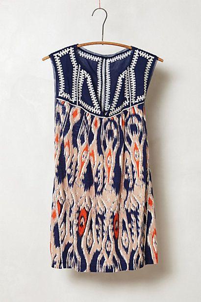 summer dress, Anthropologie