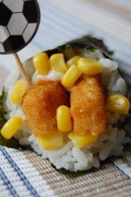 Fiona's Japanese Cooking: CHILDREN'S DAY FISH FINGER & CHICKEN GOUJON TEMAKI RECIPE