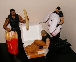 The Shield - Fast Food by KiraBlackwell