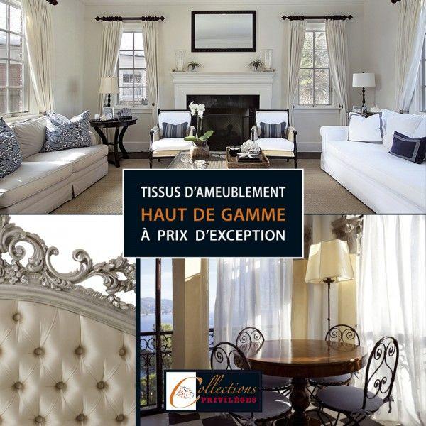 vente de tissus d 39 ameublement haut de gamme prix. Black Bedroom Furniture Sets. Home Design Ideas