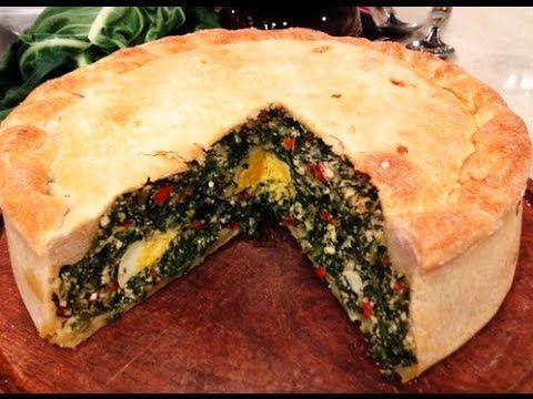 Pascualina de acelga, queso y huevo - Recetas – Cocineros Argentinos