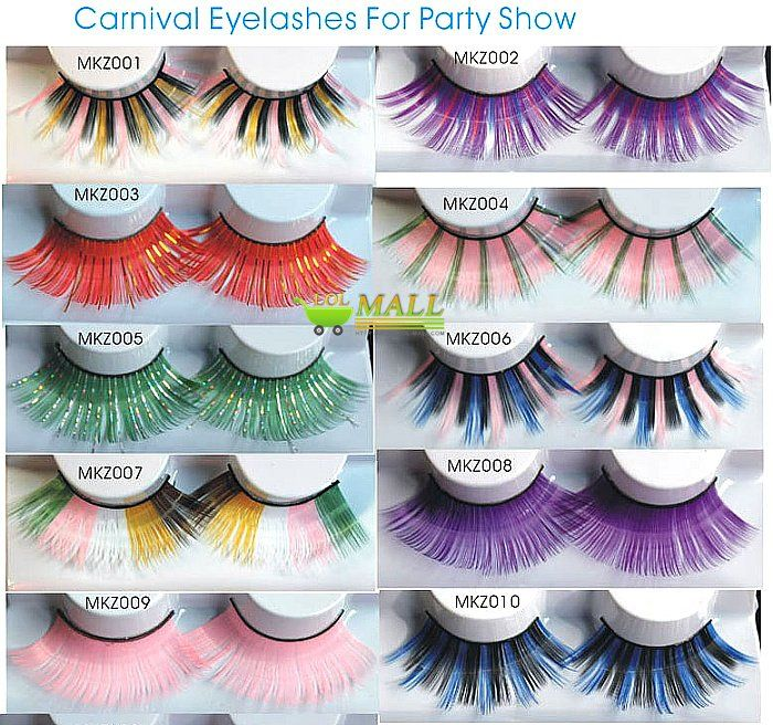 halloween false eyelashes Reviews -fun