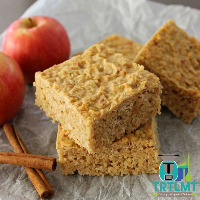Apple and oat slice