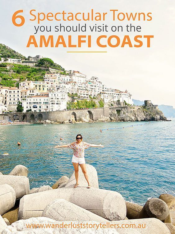 Six quaint Italian towns to visit on an Amalfi Coast Road Trip. You'll want to add them to your Italy travel plans.
