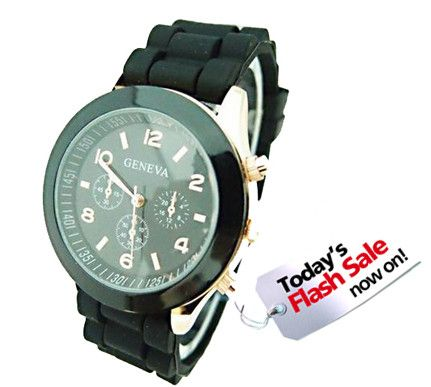 """Sports Silicone """"Women's"""" Watch from sheerFAB.com for $9.95"""