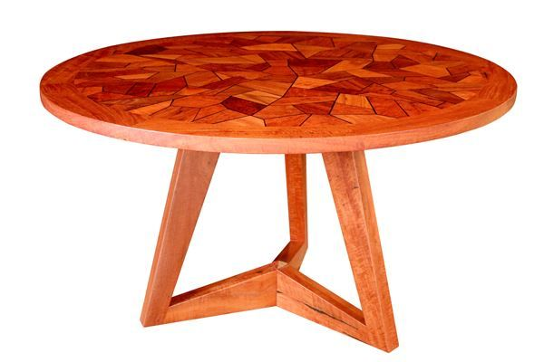 Trileg Parquetry Table