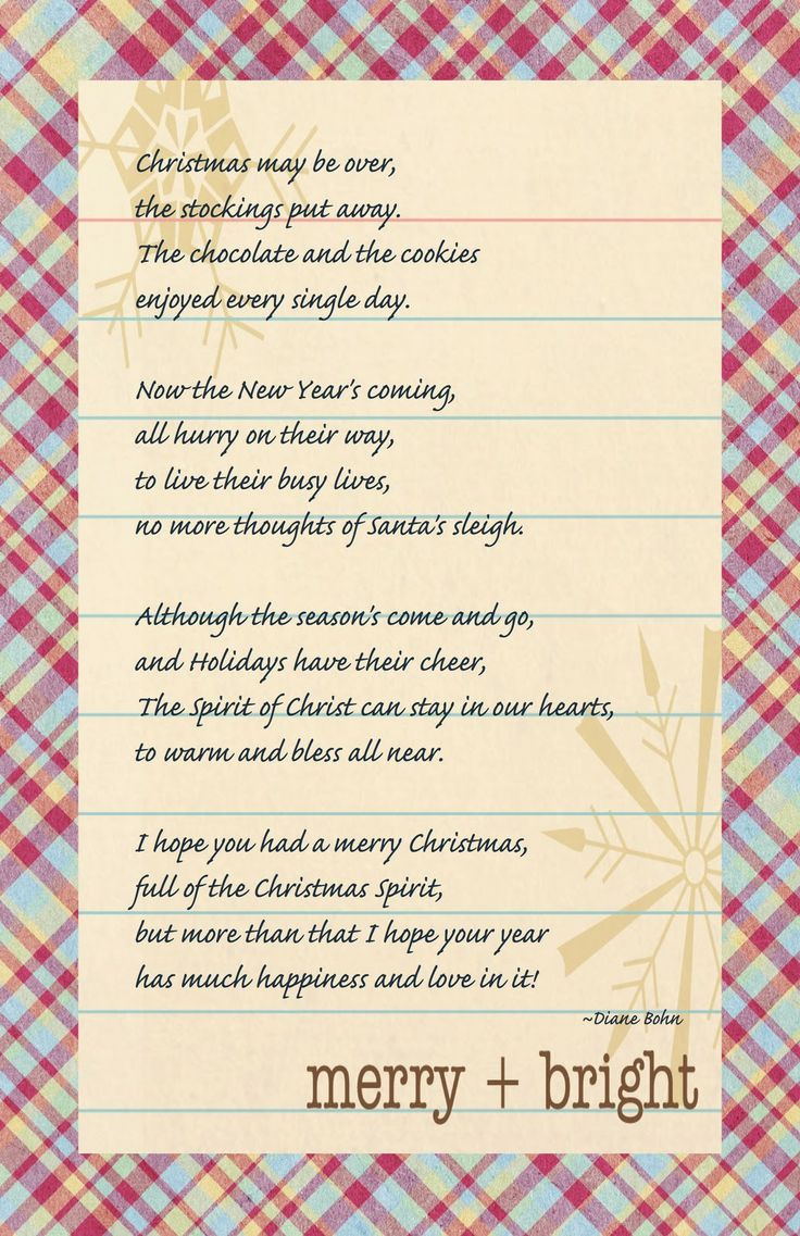 Christmas poems for church programs - After Christmas Poem 001 Jpg 1035 1600