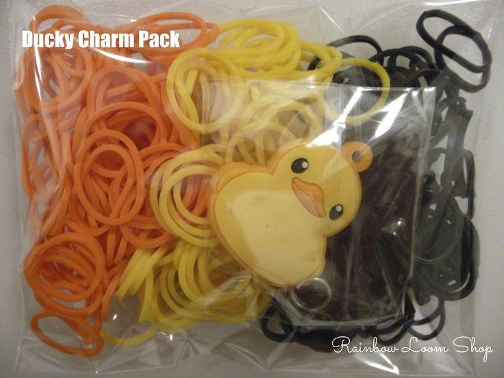 Rainbow Loom Shop - Duckie Charms