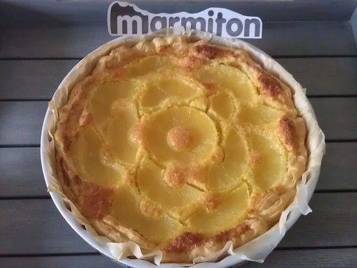 Gâteau Hawaïen à la noix de coco - Recette de cuisine Marmiton : une recette
