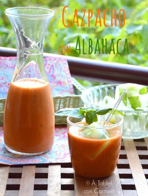 Gazpacho con Albahaca