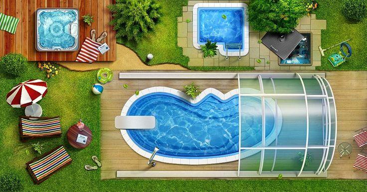 бассейн на участке - Поиск в Google