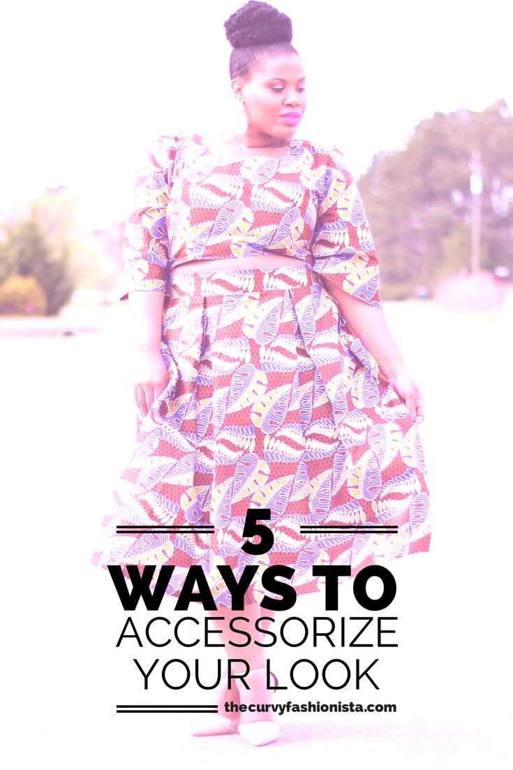 From Drab to Fab- We Have 5 ways to Accessorize Your Look! http://thecurvyfashionista.com/2014/07/drab-fab-5-ways-accessorize-look/