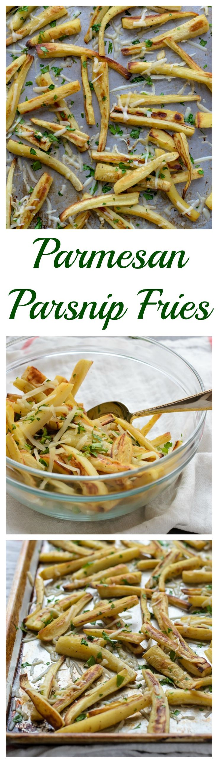 Parmesan Parsnip Fries. Like sweet potato fries? You will LOVE these!