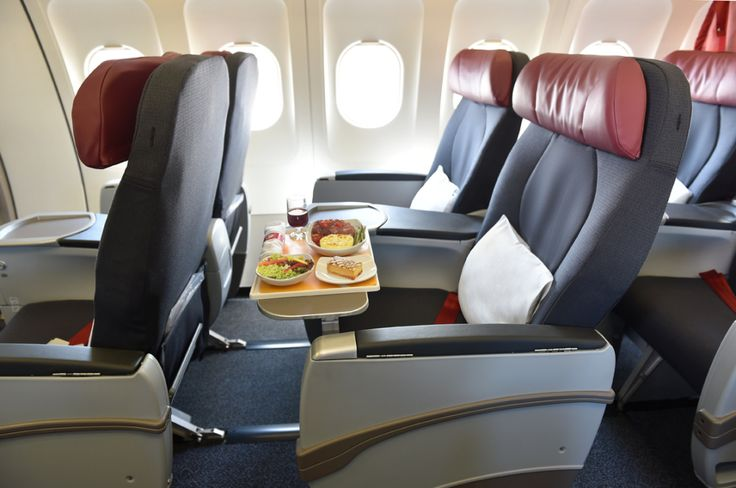 Air Canada AC-319 - The new Premium rouge seats fall roughly in line with Air Canada's international premium economy seats on its 787 Dreamliner fleet,