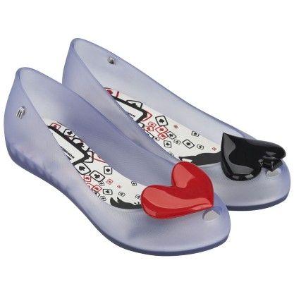 alice attraverso lo specchio regina di cuori scarpe
