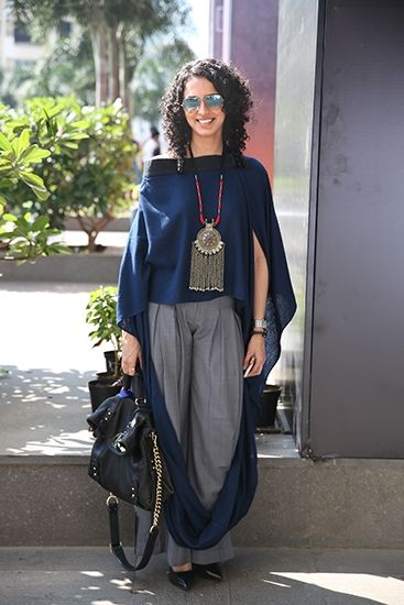street style - Aparna Badlani, Curator and co-owner of Atosa at the LFW summer-resort 2015