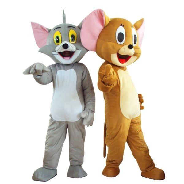 Tom and jerry mascot costume free shipping tom and jerry pinterest
