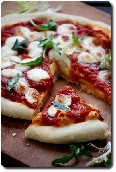 pizza margherita et pate a pizza faite maison plus quelques astuces pour reussir