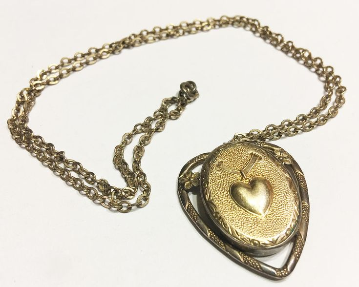 Vintage Locket neckless, gold filled, with a chain | Jewelry & Watches, Vintage & Antique Jewelry, Fine | eBay!