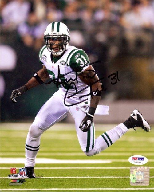 Antonio Cromartie Autographed 8x10 Photo New York Jets PSA/DNA Stock