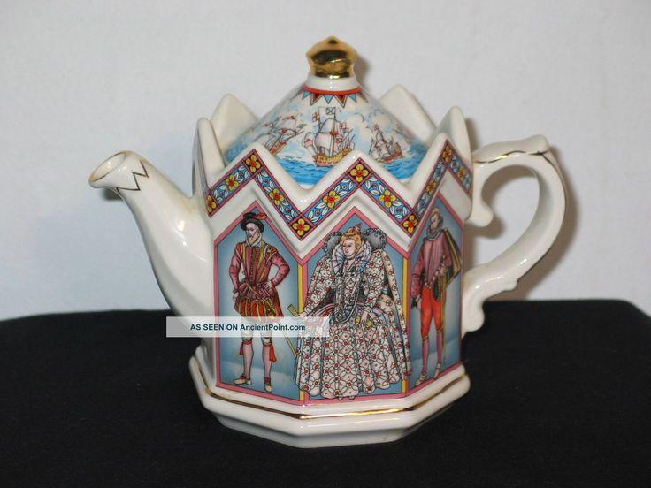 Sadler Teapot Elizabeth I Queen Of England Teapots