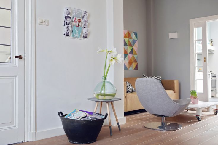 Anouk, Guus en zoontje Seb in hun monumentale woning - Inspiratie voor je interieur