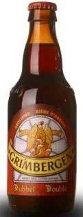 Cerveja Grimbergen Dubbel, estilo Belgian Dubbel, produzida por Alken-Maes, Bélgica. 6.5% ABV de álcool.