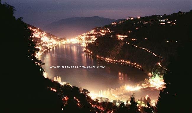 Night view (Nainital)