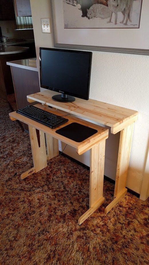 best 25 small computer desks ideas on pinterest computer desk small space space saving. Black Bedroom Furniture Sets. Home Design Ideas