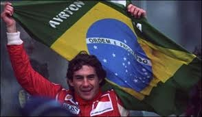 We saw one video about Ayrton Senna, big pilot, one hero, makes a huge lack.