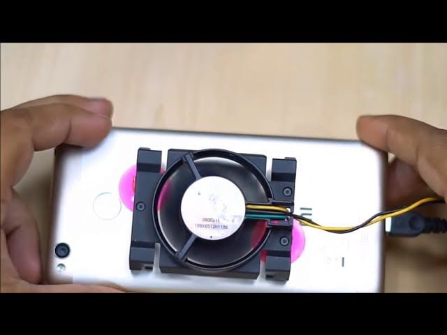 Diy Smartphone Cooler Tutorial Attach Cooling Fan To Your Phone