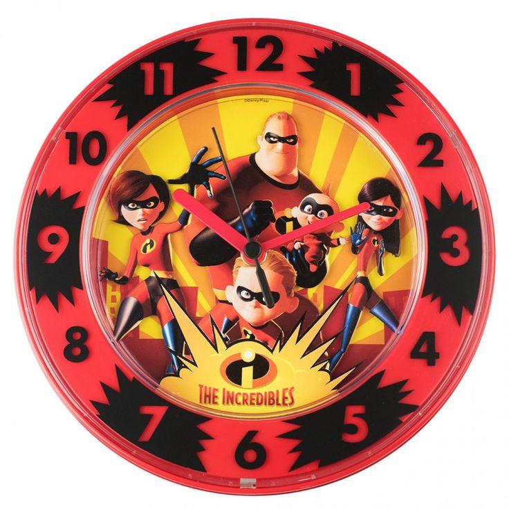 The Incredibles Clock
