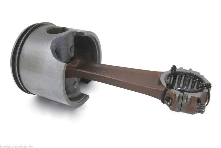 Mercury Outboard Piston Rod Bearing Assembly STARBOARD 135-175 HP #859563T4 #Mercury #Outboard #V6 #OPTIMAX #MercuryRacing #Piston #PistonRod #PistonBearing