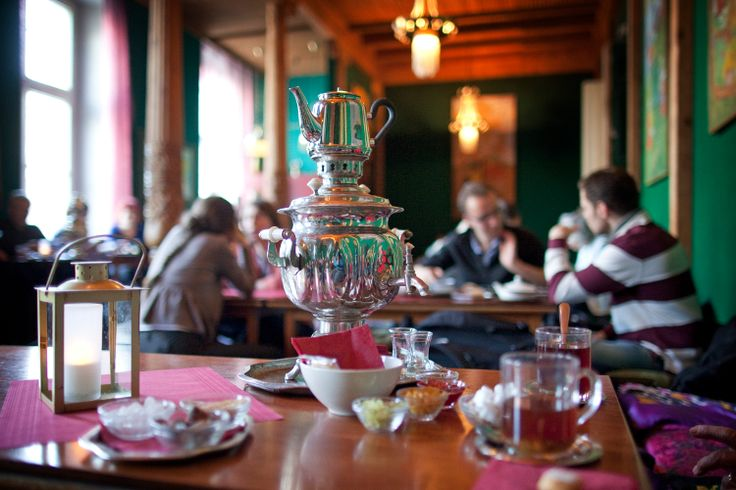 tajik tearoom in Berlin was a gift from the Soviets to the GDR