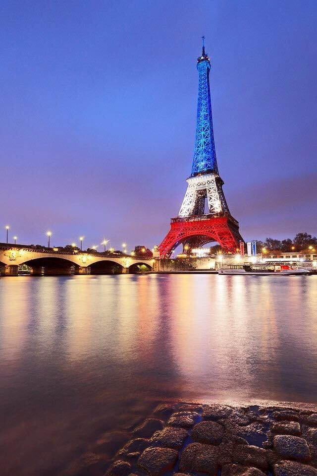Bleu Blanc Rouge... Eiffel Tower!                                                                                                                                                      More