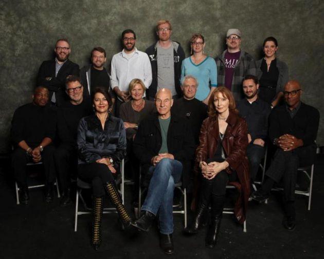 Next Generation Cast 25th Anniversary Reunion - I love how Patrick Stewart hasn't changed a bit.