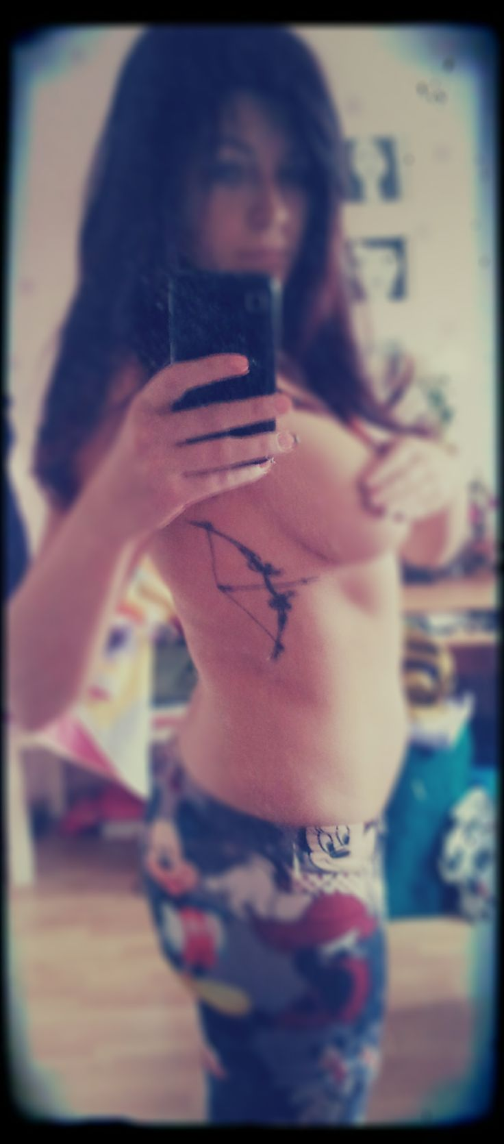 Bow and arrow tattoo tattoos pinterest arrow tattoos for Archery tattoo pictures