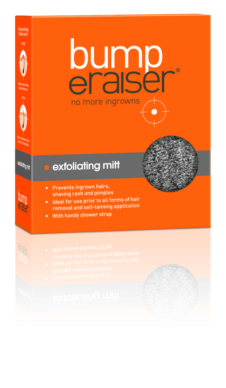Exfoliating Mitt The Bump Eraiser Exfoliating Mitt Is A Must Have In Your  Shower To Prevent
