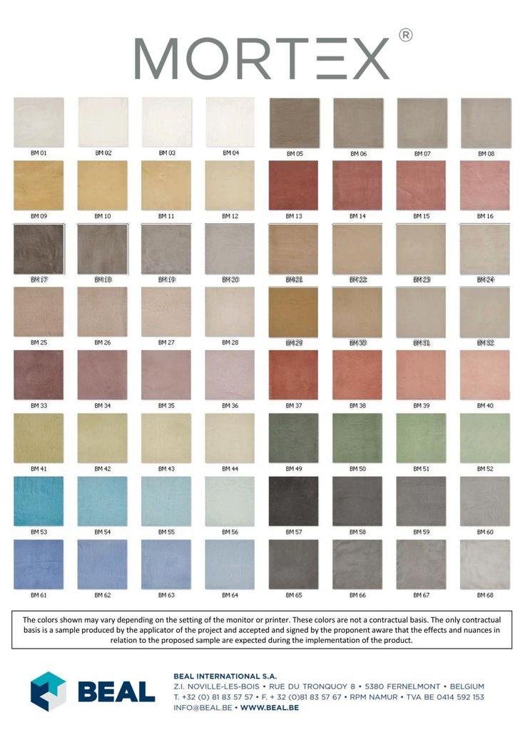 ENJOYWORKS/エンジョイワークス/SKELETONHOUSE/スケルトンハウス/SKELETONHUT/スケルトンハット/mortex/モールテックス/color chart/色見本