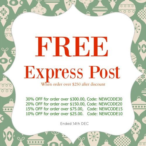 FREE express post -  up to 30% discount - Christmas SALE by yooounique on Etsy
