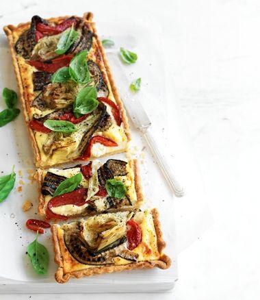 Antipasto Tart recipe | Food | Summer | MiNDFOOD