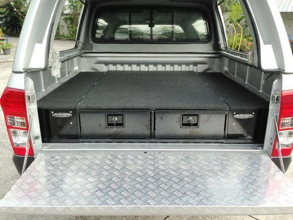 Vw Amarok Low Tray Bins Work Truck Pinterest