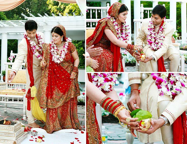 Startling Wedding Rituals in an Indian Wedding