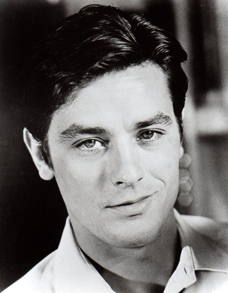 Alain Delon, 1964 - beautiful man, but not very nice from what I've heard...