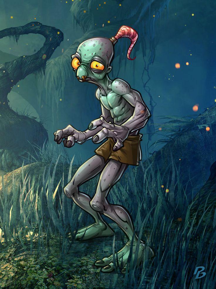Oddworld by PatrickBrown on DeviantArt